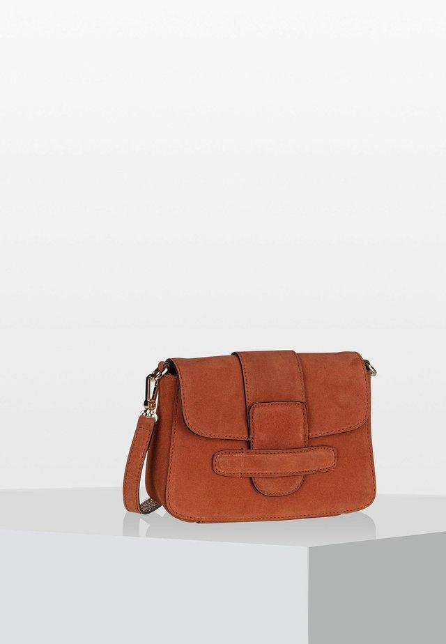 Across body bag - rust