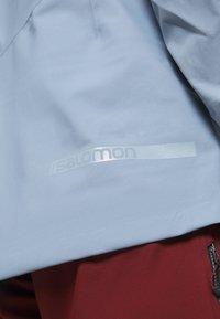 Salomon - OUTPEAK SHELL - Ski jacket - ashley blue - 5