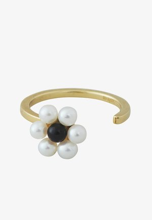 MY FLOWER RING 10MM W. FRESHWATER PEARLS - Ring - gold