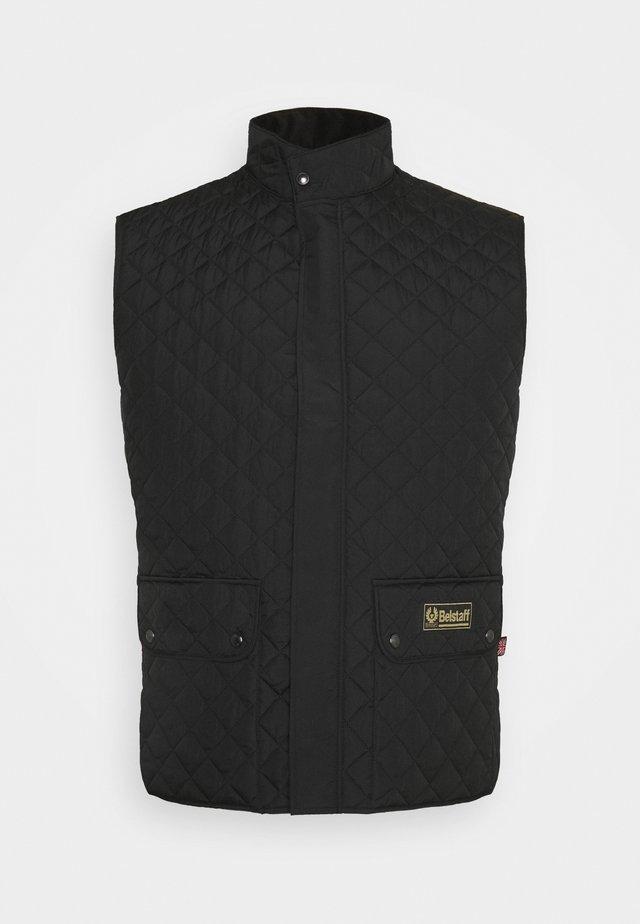 WAISTCOAT OSLIGHTWEIGHT QUILT - Waistcoat - black