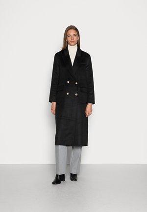 SLFTAMA HANDMADE COAT - Klasyczny płaszcz - black