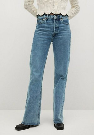 ARIADNA - Flared Jeans - middenblauw