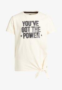 WE Fashion - Print T-shirt - off-white - 3