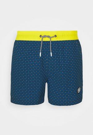 JJIMAUI JJSWIMSHORTS MINI PRINTS - Swimming shorts - navy blazer