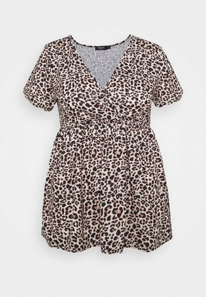 WRAP SWING TUNIC - T-shirt à manches longues - animal