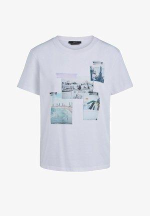 FOTOMOTIV - T-shirt imprimé - bright white
