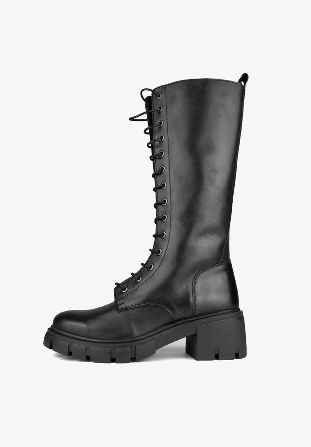 Lace-up boots - noir