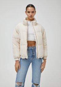 PULL&BEAR - Winter jacket - beige - 0