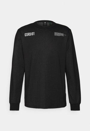 TEXT TWEETER - Maglietta a manica lunga - black