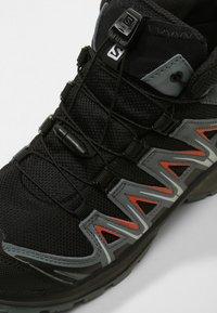 Salomon - XA PRO 3D MID J - Hiking shoes - black/stormy weather/cherry tomato - 2