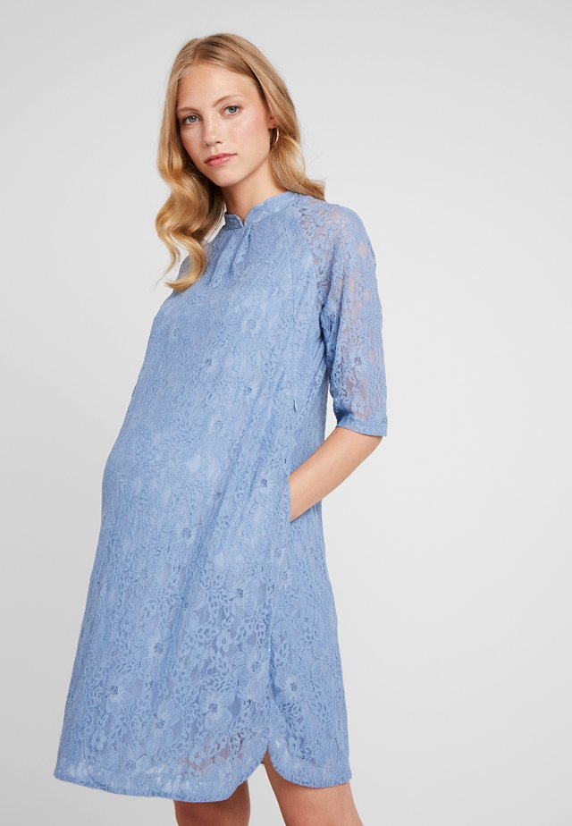 CURTIS DRESS - Day dress - pigeon blue