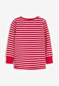 Next - CHRISTMAS APPLIQUÉ STRIPE - Pyjama set - red - 5