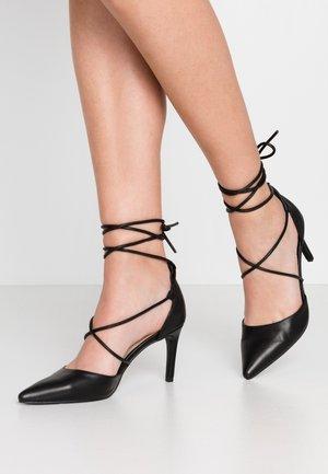 Lodičky na vysokém podpatku - black