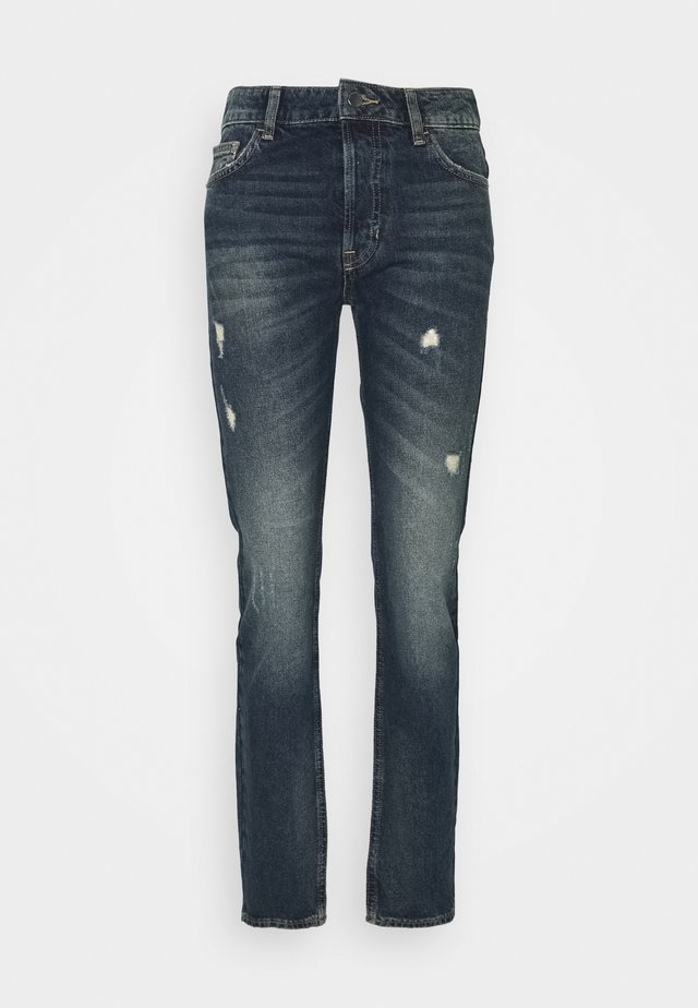Jeansy Straight Leg - denim blue