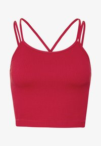 Cotton On Body - SEAMFREE STRAPPY VESTLETTE - Top - sundried tomato - 5