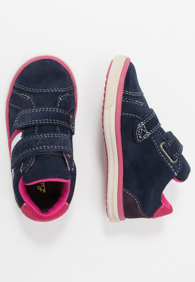 MINO-TEX - Joggesko - navy/pink