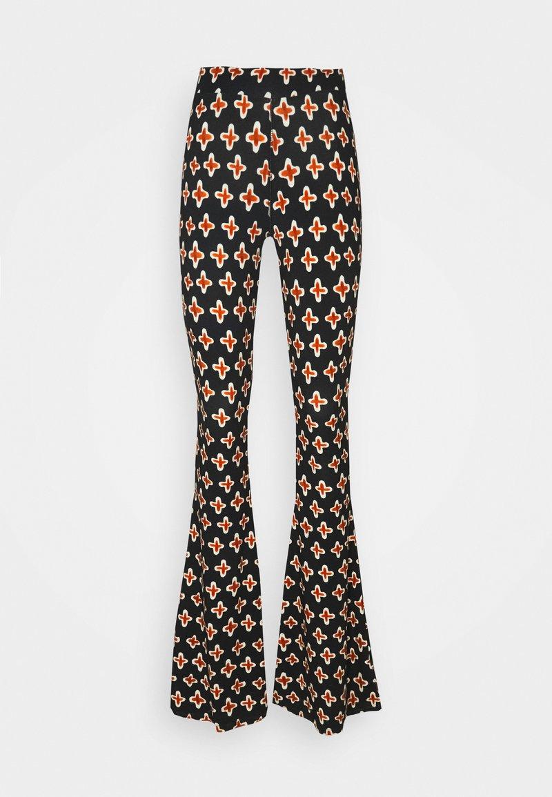 Stieglitz - LOUIE FLARES - Pantalon classique - multi