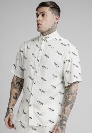 REPEAT PRINT RESORT SHIRT - Shirt - off white