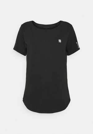 MYSID OPTIC SLIM - Basic T-shirt - black