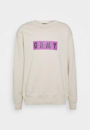 FRENZY CREWNECK UNISEX - Sweatshirt - sand