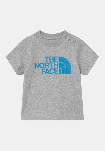 INFANT EASY UNISEX - Print T-shirt - light grey/white