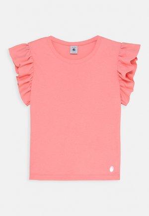 MANUCURE FRILL - Print T-shirt - gretel