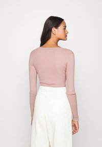 Missguided - NECK BODY - Sweter - pale pink - 2