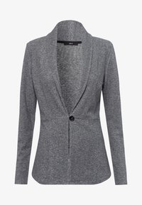 zero - MIT KNOPFVERSCHLUSS - Cardigan - silver grey-m - 4