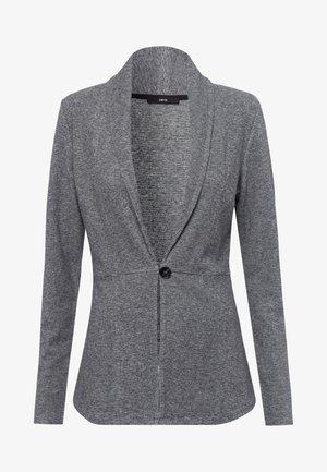 MIT KNOPFVERSCHLUSS - Cardigan - silver grey-m