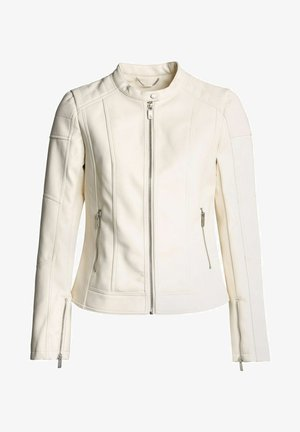 PROVIDENCE  - Faux leather jacket - beige