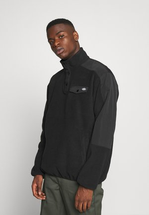 PORT ALLEN - Fleece jacket - black
