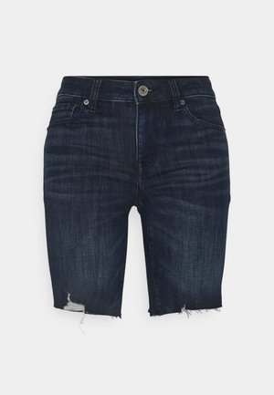 SKINNY BERMUDA - Denim shorts - light tinted wash