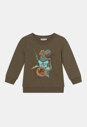NMMLIONEL LIGHT BOX - Sweater - stone gray