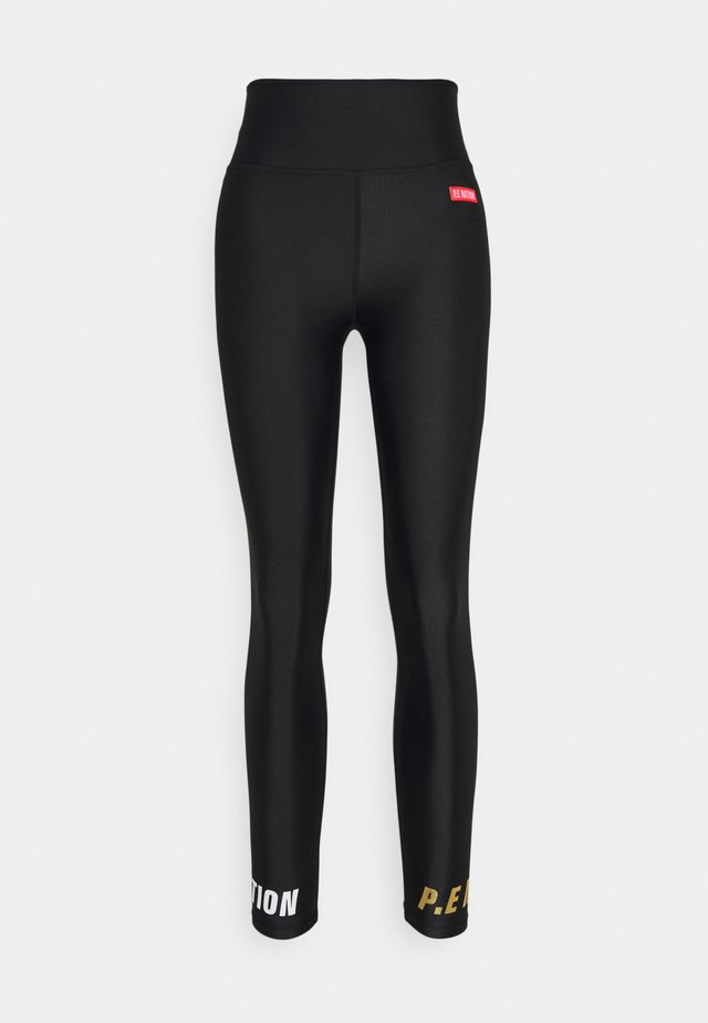 BLUELINER LEGGING - Tights - black
