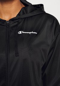 Champion - HOODED FULL ZIP - Training jacket - black - 3
