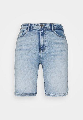 ONLPAOLA LIFE - Denim shorts - light blue denim