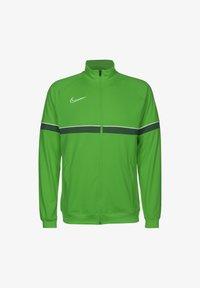 light green spark / white / pine green