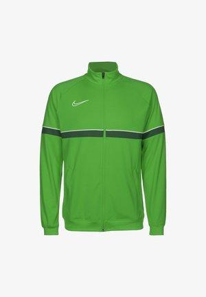 ACADEMY - Veste de survêtement - light green spark / white / pine green