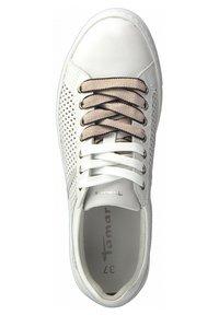 Tamaris - Trainers - white rose com - 1