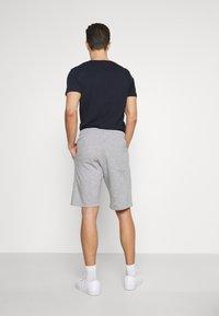 Pier One - 2 PACK - Shorts - mottled light grey - 2