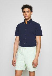 Polo Ralph Lauren - SEERSUCKER  - Shirt - astoria navy - 0