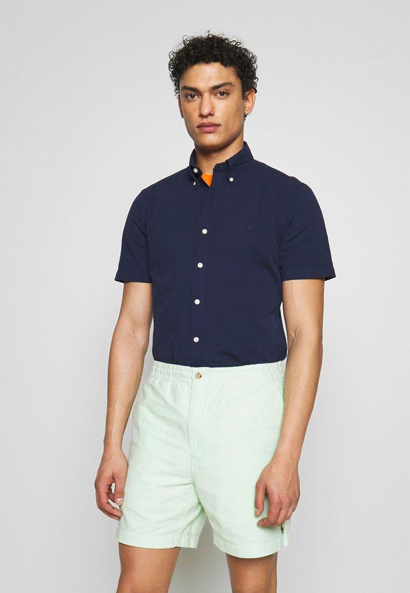Polo Ralph Lauren - SEERSUCKER  - Shirt - astoria navy