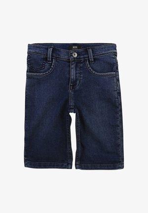 Short en jean - stone pulverisation