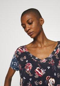 Desigual - ANTOINE - T-shirts med print - black - 4