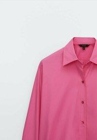 Massimo Dutti - Koszula - neon pink - 2