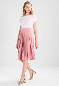 Anna Field - A-line skirt -  rose - 1