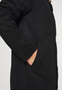 Denim Project - COAT - Klasický kabát - black - 5