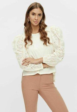 Sweatshirt - vanilla