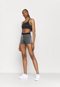 Nike Performance - AEROSWIFT SHORT - Collants - iron grey/black/white - 1