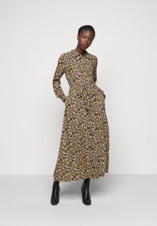 YASNULA LONG DRESS - Robe chemise - black